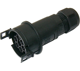 Weatherproof/Waterproof Connectors Range - TeePlug & Sockets - THB.404.A2E.Z