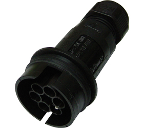 Weatherproof/Waterproof Connectors Range - TeePlug & Sockets - THB.408.A2E