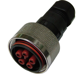 Weatherproof/Waterproof Connectors Range - TeePlug & Sockets - THB.408.B2A