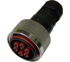 Weatherproof/Waterproof Connectors Range - TeePlug & Sockets - THB.408.B2E