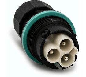 Weatherproof/Waterproof Connectors Range - TeePlug & Sockets - THB.384.A1A
