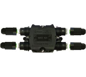 Weatherproof/Waterproof Connectors Range - TeeBox - THH.622.C3A