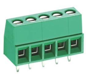 PCB Terminal Blocks, Connectors and Fuse Holders - Standard PCB Terminal Blocks - TL002V-02PGS