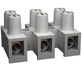 Emech Terminals/Accessories - Pillar Terminal Blocks - TLB-300W-12P-TS