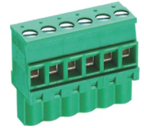 PCB Terminal Blocks, Connectors and Fuse Holders - Pluggable Cable Mounting - Pluggable (Female) - TLPS-300RL-04P
