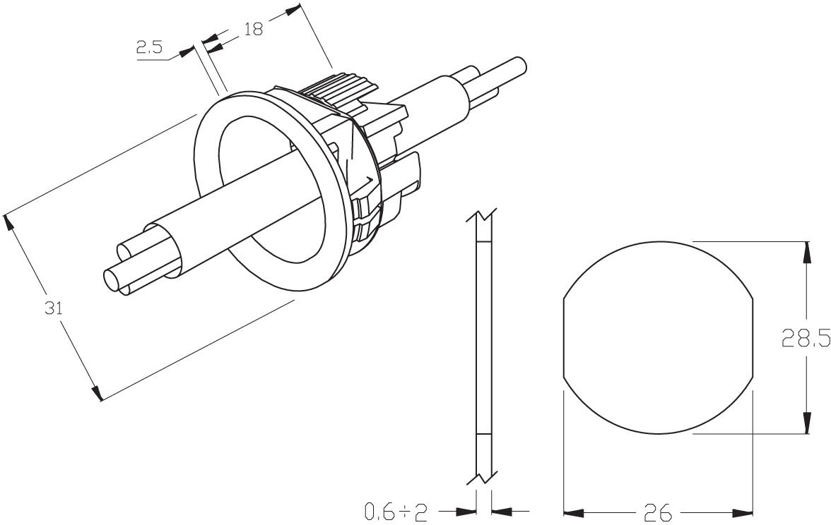 hylec waterproof connectors range