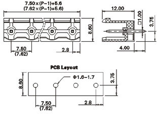 wiring diagrams terminal blocks with Weatherproof Terminal Blocks on Chrysler 300 Rocker Panel also Automotive Circuit Board Connectors in addition Wiring Harness Wrap together with Tennant 5680 Wiring Diagram moreover 12 Volt Fuse Panel.