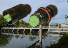 TeePlug waterproof connectors used at Taplow Weir