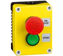 Control Stations - Emergency Stop Stations - 1DE.02.01AB