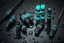 Techno TH392 waterproof connector with X-Dry technology