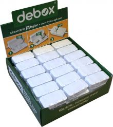Counter display unit for DEBOX