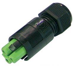 Weatherproof/Waterproof Connectors Range - TeePlug & Sockets - THB.382.B1A.AG.Z