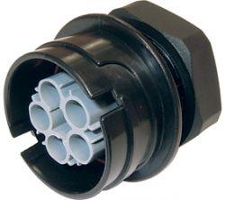 Weatherproof/Waterproof Connectors Range - TeePlug & Sockets - THF.406.A1A