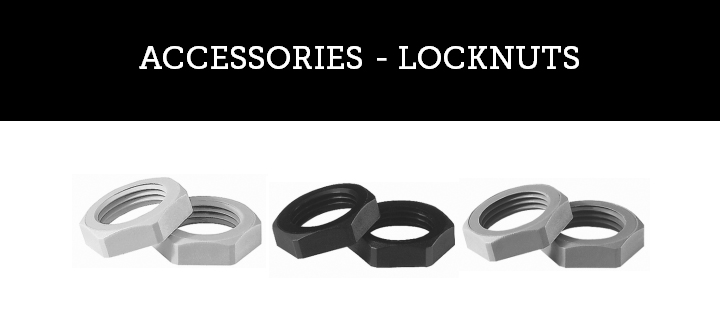 ACCESSORIES - LOCKNUTS