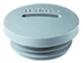 Grey RAL 7001 Blanking Plug