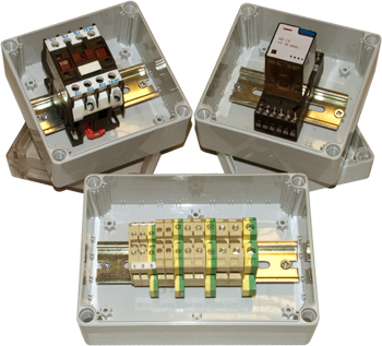 DN IP66 Junction Box with DIN Rail