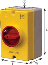 Isolator Switches AC