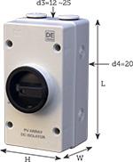 Isolator Switches DC
