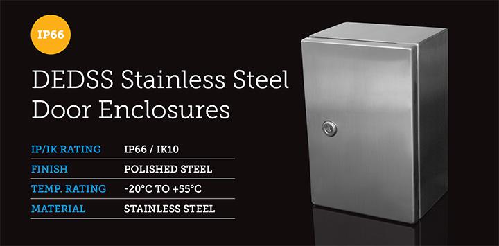 Stainless Steel Door Enclosures