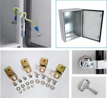 Steel Door Enclosures